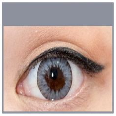 GREY Coloured Contact Lenses MEL - 1 Year (Pair)