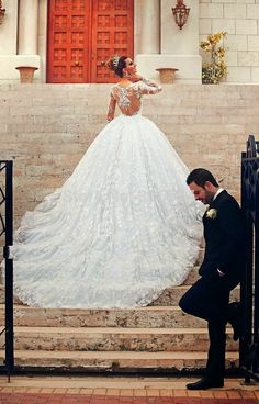 Wonderful Perfect Wedding Dress For The Bride Ideas. Ineffable Perfect Wedding Dress For The Bride Ideas. Wedding Robe, Dream Wedding Dresses, Wedding Pics, Bridal Dresses, Wedding Gowns, Lace Wedding, Wedding Bells, Wedding Ideas, Wedding White