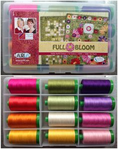 Island Batik is looking for your opinions and the chance to win an incredible bundle including an Aurifil Full Bloom 40wt collection by Fourth and Sixth Designs!  To read all the details and enter for your chance to win please visit http://www.islandbatik.com/news/index.php/full-bloom-giveaway/