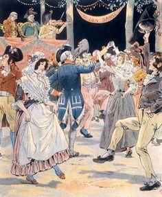 Fête de la Fédération le 14 juillet 1790. 14 juillet : Fête antinationale