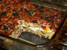 Výborná, a přitom jednoduchá nádivka nejen na Velikonoce. Lasagna, Ethnic Recipes, Food, Meals, Yemek, Lasagne, Eten