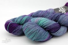 The Beautiful People - Lady Persephone Sock - Bluefaced Leicester & Nylon