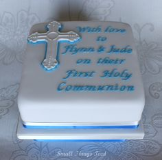 Image result for boys holy communion cakes