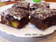 Narancsos-csokoládés kevert süti   A konyha a lakás szíve...