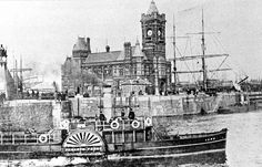 Cardiff Pierhead Building circa 1900 - These pictures show the remarkable transformation of Cardiff Bay in the 20th century - Wales Online