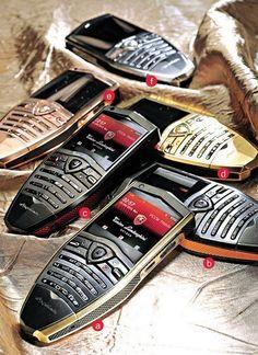 Lamborghini Spyder Luxury Mobile Phones