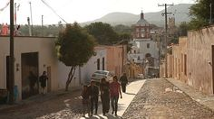 How one abandoned ghost town Mineral de Pozos in Mexico is hoping to be a hit with tourists.