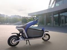 EQUS - an electric cargo motorcycle that is perfect for transporting goods as you travel. #motorcycle #cargo #YankoDesign