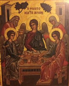 Iconograms features Orthodox icons, lives of Saints, hymns of the Eastern Orthodox Church and Ecards for almost any occasion! Religious Images, Religious Icons, Religious Art, Abraham And Sarah, Anno Domini, Biblical Art, Byzantine Icons, Home Icon, Catholic Art