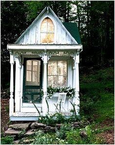 Would make a beautiful potting shed