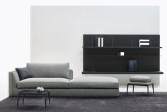 Sofa: RICHARD - Collection: B&B ITALIA - Design: Antonio Citterio