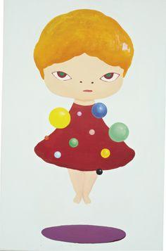 YOSHITOMO NARA The Planet Doll , 1993