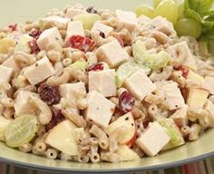 Lower Sodium Golden Classic® Chicken Pasta Salad. One of over 200 delicious recipes from Boar's Head.