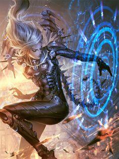 Sci-Fi Art: Sthycx the Code Installer - 2D Digital, Sci-fiCoolvibe – Digital Art