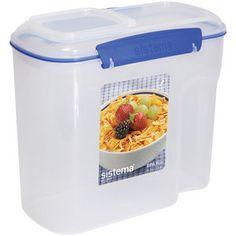 Sistema USA 2.8 Liter Cereal Storage Container (as car trash bin)