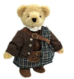 Outlander Collectible Bear: Claire Jamie Fraser by North American Bear Co. (6668)
