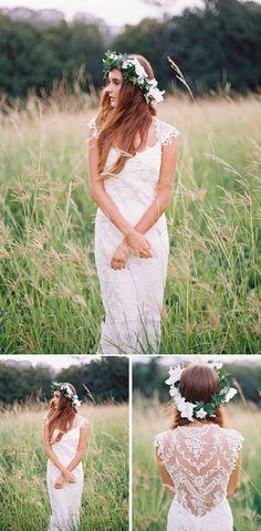 Claire Pettibone Chantilly gown  #wedding #weddingdresses #dresses