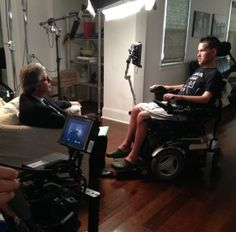 "ESPN Producer Mike O'Connor goes from being inspired to compassionate talking about Steve Gleason. ""To meet Steve, and see how he relates to his almost-two-year-old son Rivers, stirs up a lot of emotions,"" O'Connor said. Gleason best known for blocking a punt which was recovered for touchdown the night the Superdome reopened after Katrina. He was diagnosed with ALS. Gleason has found the music of Pearl Jam inspirational in strengthening the bond with his son."