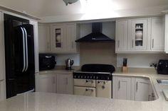 An Innova Harewood Sand Beige Kitchen - http://www.diy-kitchens.com/kitchens/harewood-sand-beige/details/