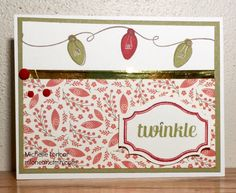 Show and Tell, with Michelle: October 2015 Stamp of the Month Blog Hop: Twinkle