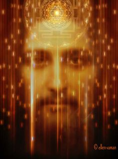 ✣ … For those who are Awake the Cosmos is One.  ✣ Heraclitus 500 BCE  Art © Ellen Vaman