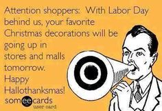 Attention shoppers...