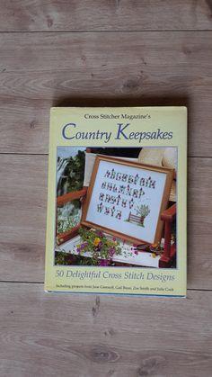Country Keepsakes Cross Stitch Book 50 by BeesKneesCraft on Etsy