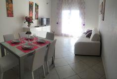 """Soggiorno """"ORTENSIA""""con divano letto Living ORTENSIA room with sofa ded"""