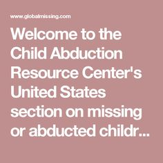 child abduction in the united states essay Amber alert essay according to the united states department of justice every forty seconds a child is being abducted the amber alert has greatly affected the issue of child abduction by allowing the eyes of the public to quickly become involved in rescuing the missing child.