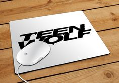 Teen Wolf White Mousepad | Aneend