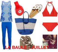 """La Baule - Juillet"" by sandrakrim on Polyvore"