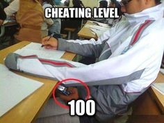 Funny pictures about Cheating level: Expert. Oh, and cool pics about Cheating level: Expert. Also, Cheating level: Expert. Funny Images, Funny Photos, Bing Images, College Life Hacks, Evil Geniuses, Like A Boss, Hilarious Memes, Funny Humor, Funny Videos