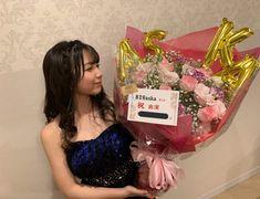 """826aska on Twitter: """"本番終了して、福井へ帰ってます! 素敵な花束を頂きました。嬉しい🥺💐 久しぶりにすごく緊張したけど、楽しかった〜〜!ありがとうございました!  明日は福井でファンミですねーー! 楽しみ。ニヤニヤ( ◠‿◠ )… """""""