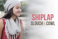 """I love slouchy hats! In fact in my pre-crochet days, when I was designing my friend's crochet web site a few years back (you can read more about that here), she paid me partly in crochet goods... and my first request was, """"Can you make me a slouchy hat?"""" I think they are so fun and th"""