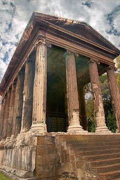 Temple of Portunus, Rome - recently restored & reopened