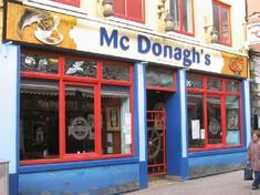 McDonagh's Restaurant: outside  Best Fish and Chips in Ireland