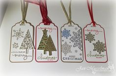 i♥Cards2: Stampin Up Christmas Gift Tags