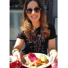 F R I E N D S  //...brunching at @thefriendsofours with the beautiful @louisemckinlay on this lovely sunny day in London!  we had the eggs royale - the beetroot and lime hollandaise made it perfect  #friendsofours #london #hoxton #londonbrunch #eggs #royale #hollandaise #londonfitness #fitlondoners #eatwell #sunshine #igdaily #tiuuk #tiuteam #tiubikiniseries by bex_n_thecity