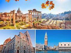 IGoTravel - Art & Culture - CLASSIC TOUR: ROME, FLORENCE & VENICE #igotravel #wonderfullitaly #bestcities
