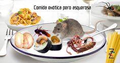 Aventuras culinarias de comida grotesca.   Lee el artículo completo en www.zigmaz.com