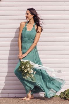 523f0fe86a1 Multiway in Sage Green by Matchimony Multiway Bridesmaid Dress