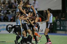 Las Leonas, Campeonas del Mundo de hockey femenino.