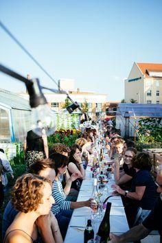 Enjoy the summer! Das #Gartendinner im Stadtteilgarten der Annalinde ist ein echtes Sommer-Highlight!