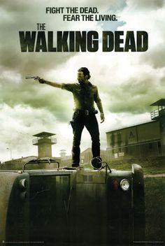 The Walking Dead B Poster