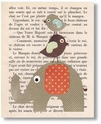 French page behind