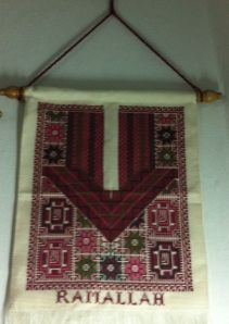 wall hanging from Ramallah region. Price $59