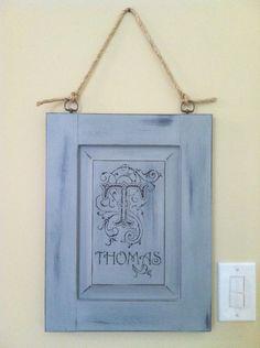 Art from a cabinet door