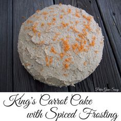 King's Carot Cake with Spiced Frosting made with Otto's Naturals Cassava Flour | Paleo Gone Sassy