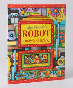 Charlesbridge: Robot Drawing Book Hardcover  Ages six to nine  From Zulily                      You may also like                                                        Robot Drawing Book Hardcover