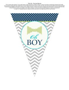 Little Man bowtie baby shower banner navy by papercleverinstants, $7.00